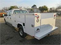 2002 Ford F350 Pickup with Utility Bed