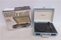Crosley CR8005D-TU Cruiser Deluxe Portable Record