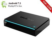 Android 7.1 TV Box V7 Mini Smart TV Box S912 Octa