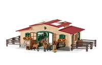 Schleich Stable With Horses And Accessories -