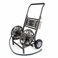 Liberty Garden 301 Decorative Two Wheel Hose Cart,
