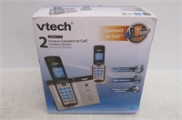 Vtech DECT 6.0 2 Cordless Phones with Bluetooth
