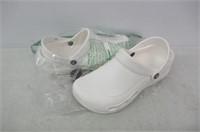crocs Women's Specialist Vent Mule, White, 9 M US