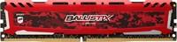 Ballistix Sport LT 8GB Single DDR4 2400 MT/s