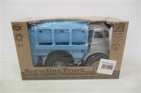 Green Toys Recycling Truck Vehicle Toy, Grey/Blue,