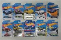 Lot of 10 HotWheels Cars