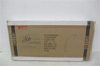 "Major-Q 81"" H Steel Adjustable Arching Floor Lamp,"