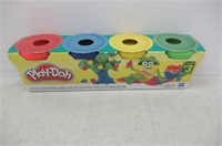 Play-Doh Mini/Travel 4 Pack (Yellow, Green, Blue,