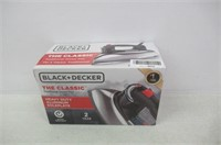 BLACK+DECKER Classic Iron, Auto Shut off, Steam or