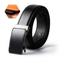 KHC Men's Belt High Quality Leather Ratchet