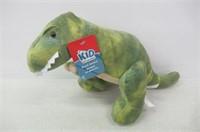 Kid Connection 10'' Dinosaur Green Plush Toy