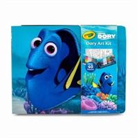 Crayola Finding Dory Art Kit Art Gift for Kids 5 &