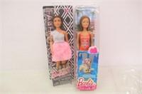 (2) Barbie Dolls