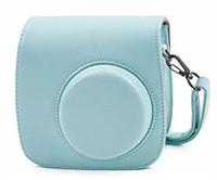 Phetium Ice Blue Soft PU Leather Protective Case