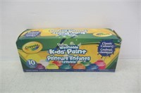 Crayola 10 59ml Paint Jars, School, Craft,