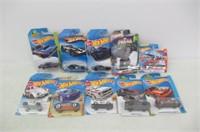 Lot of Various Hot Wheels Cars