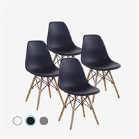 (4) Mastery Mart Dining Chairs Mid-Century Modern