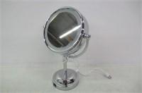 "Lighted Makeup Mirror - 7"" LED Vanity Mirror 10x"