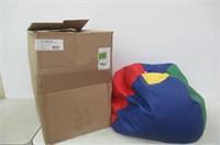 ECR4Kids Standard Bean Bag Chair, Multicolor