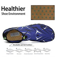Men Women Water Shoes Quick Dry Barefoot for Swim