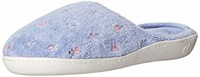 Isotoner Women's Classic Terry Clog Slippers Slip,