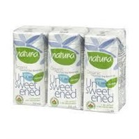 (3) Natura Organic Soy Beverage Unsweetened