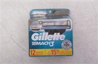 Gillette Mach3 Men's Razor Blade Refill Catridges,