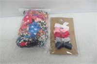 Lot of Hair Ties and Barrettes
