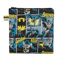 Bumkins DC Comics Reusable Snack Bag, Small