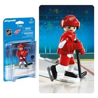 Playmobil 5077 NHL Detroit Red Wings Player Action