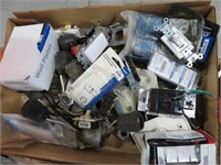 2 Boxes of electrical items
