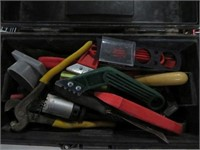 Tool box w/ snake and tools
