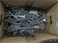 Large box of wrenches