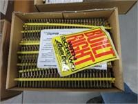 3 Boxes of quik drive screws