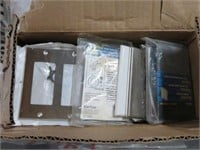 Box of s/s switch covers