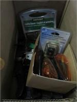Box w/ clamps, lights and door handles