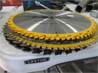 "13 assorted 12 "" construsction blades"