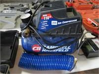 Campbell Hausfeld portable air compressor