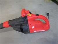 Black and Decker electric leaf hog