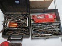 2 Boxes of drill bits