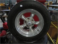 4 americain racing rims w/ tires