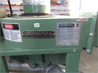 General dual dust collector w/ 3hp motor
