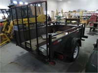 Kangaroo single axle trailer 5' x 8'