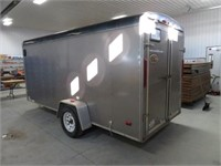 2011 RC 14 ft s/a enclosed trailer w/ barn doors