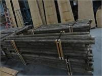"25 8' x 3"" Cedar posts"