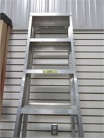 8' Aluminum extension/ step ladder