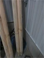 Pr of 12' horse chump rails