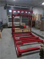 600v 8 hp 16' lumber mill