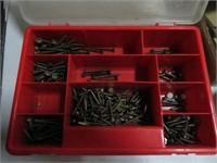 4 Cases of screws etc