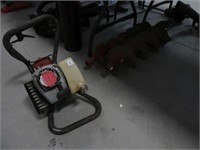 General gas post hole auger